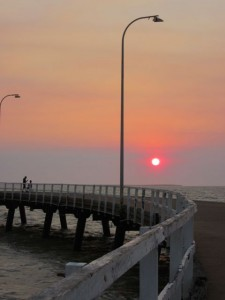 Sunset Derby Jetty